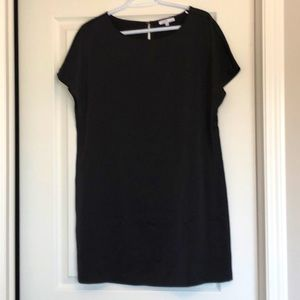 Short Sleeve Black Tunic